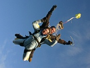 Tandem skydiving photos